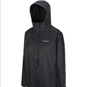 Plus size Columbia shell jacket